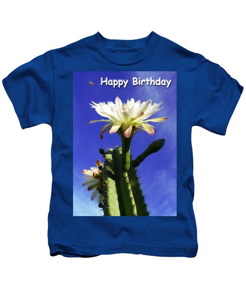 Happy Birthday Card And Print 11 Kids T-Shirt