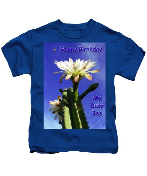 Happy Birthday Card And Print 13 Kids T-Shirt
