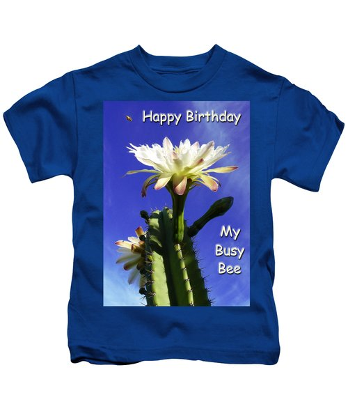Happy Birthday Card And Print 14 Kids T-Shirt