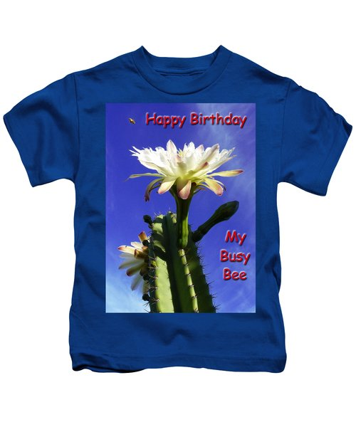 Happy Birthday Card And Print 15 Kids T-Shirt
