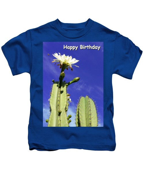 Happy Birthday Card And Print 17 Kids T-Shirt