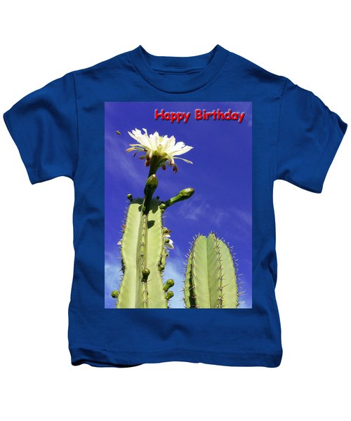 Happy Birthday Card And Print 18 Kids T-Shirt