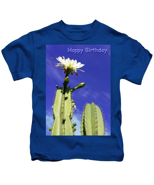 Happy Birthday Card And Print 19 Kids T-Shirt