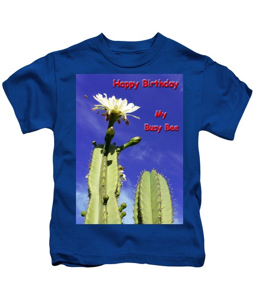 Happy Birthday Card And Print 21 Kids T-Shirt
