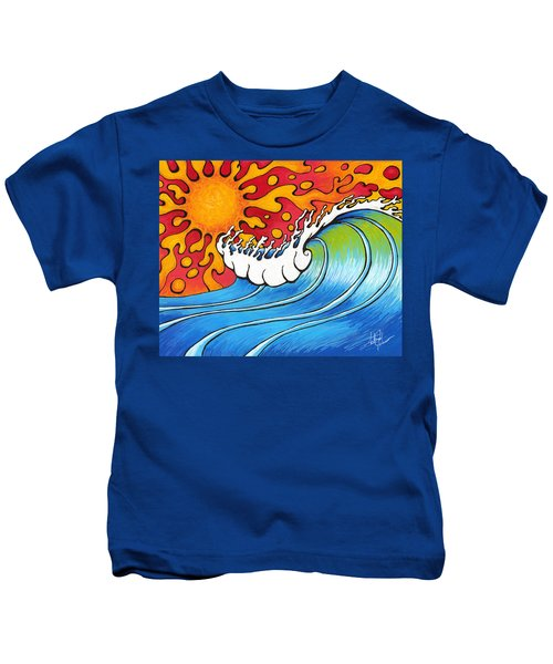 Heat Wave Kids T-Shirt