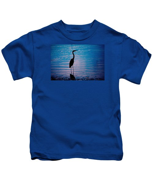 Herons Moment Kids T-Shirt