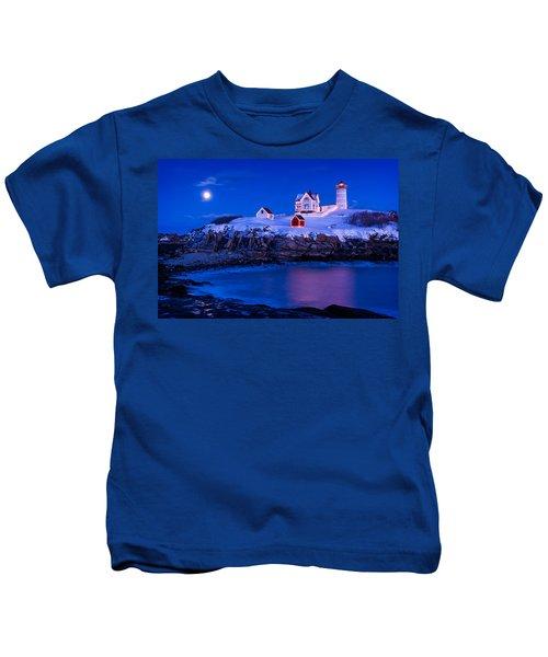 Holiday Moon Kids T-Shirt