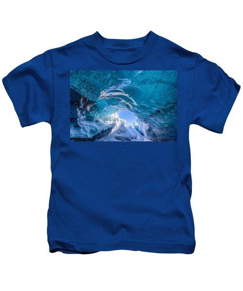 Ice Vortex Kids T-Shirt
