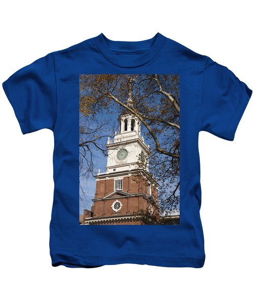 Independence Hall Kids T-Shirt