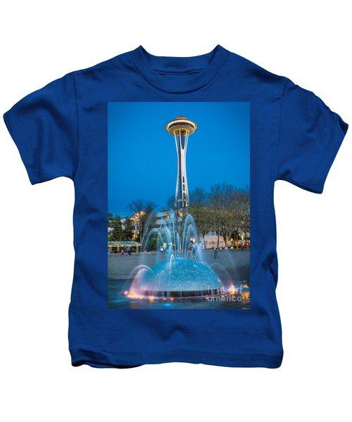 International Fountain Lights Kids T-Shirt