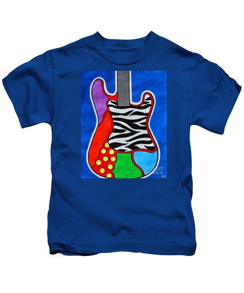 It's Electric Acrylic By Diana Sainz Kids T-Shirt