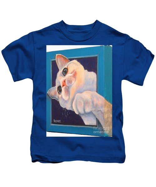 Ive Been Framed Side View Kids T-Shirt