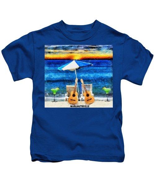 Jimmy Buffett Paradise Kids T-Shirt