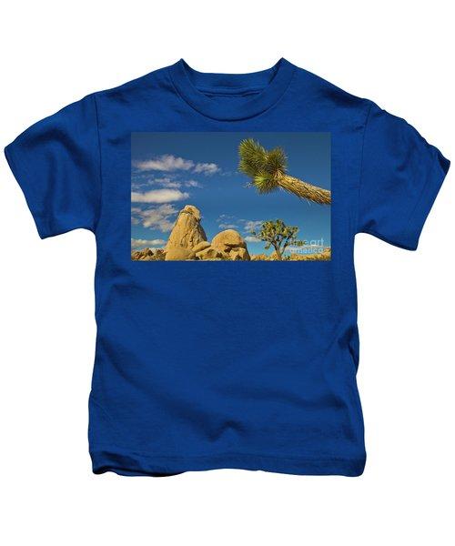Joshua Tree Rocks And Sky Kids T-Shirt
