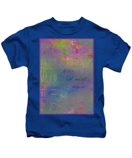 Kiss Of Mist Haiga Kids T-Shirt