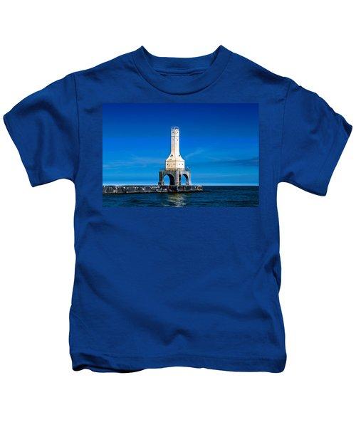 Lighthouse Blues Kids T-Shirt
