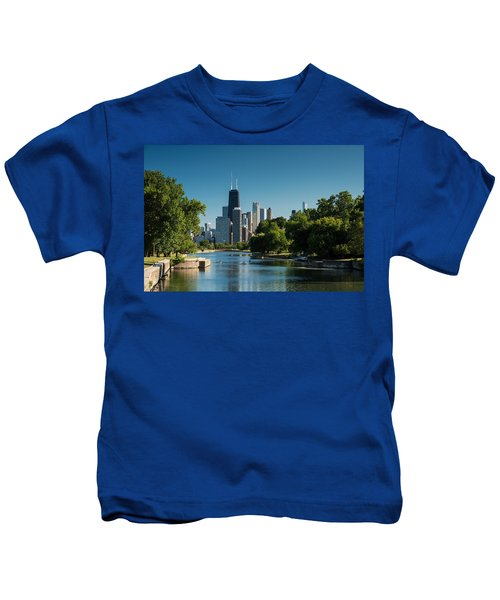 Lincoln Park Chicago Kids T-Shirt