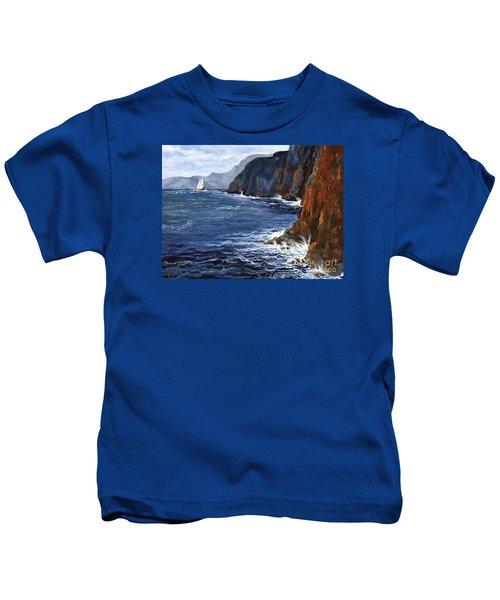 Lonely Schooner Kids T-Shirt