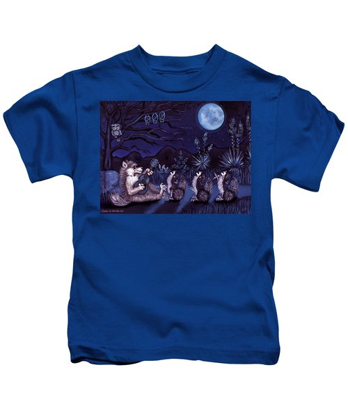 Los Cantantes Or The Singers Kids T-Shirt