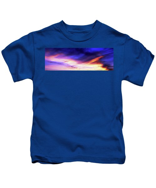Low Angle View Of Sky At Sunset, Cape Kids T-Shirt