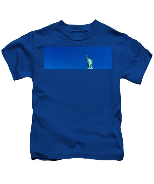 Low Angle View Of Statue Of Liberty Kids T-Shirt
