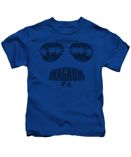 Magnum Pi - Face It Kids T-Shirt