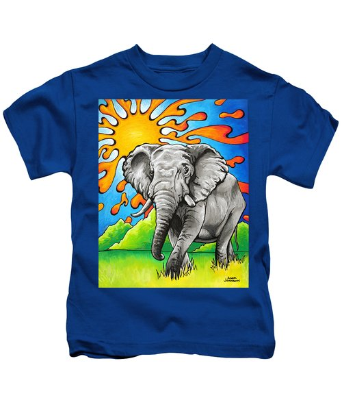 Majestic Elephant Kids T-Shirt