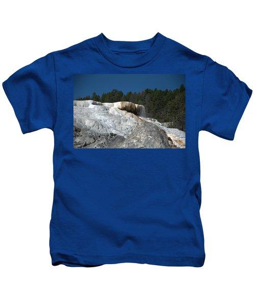 Mammoth Hot Springs 1 Kids T-Shirt
