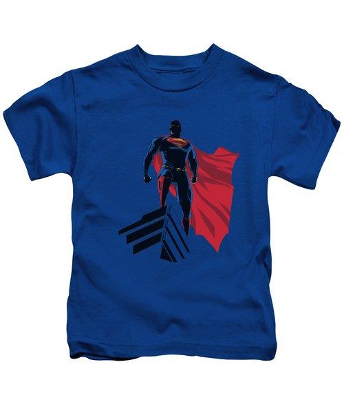 Man Of Steel - The Watcher Kids T-Shirt