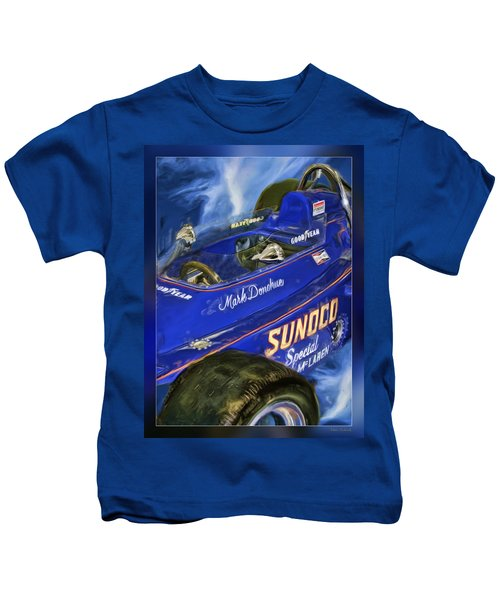 Mark Donohue 1972 Indy 500 Winning Car Kids T-Shirt