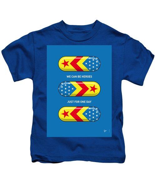 My Superhero Pills - Wonder Woman Kids T-Shirt
