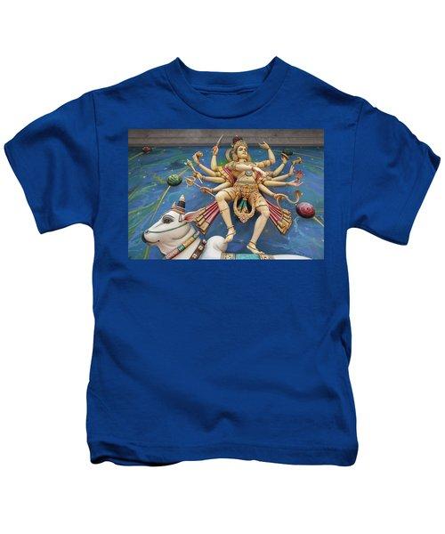 Nataraj Dancing Shiva Statue Kids T-Shirt