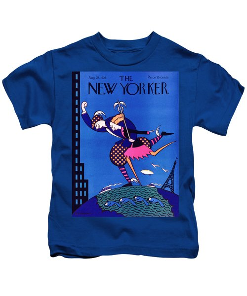 New Yorker August 28 1926 Kids T-Shirt