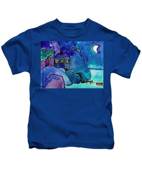Night Harbor Kids T-Shirt
