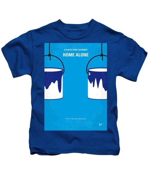 No427 My Home Alone Minimal Movie Poster Kids T-Shirt