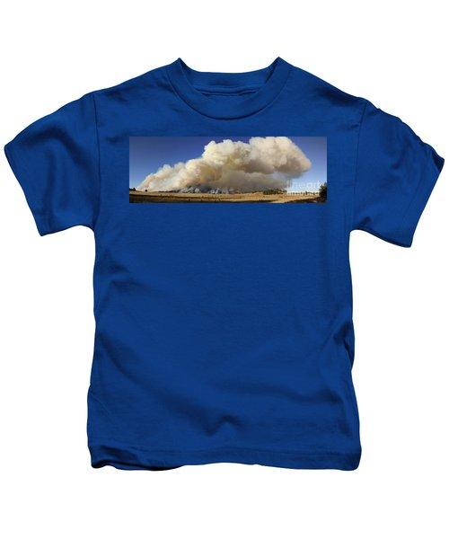 Norbeck Prescribed Fire Smoke Column Kids T-Shirt