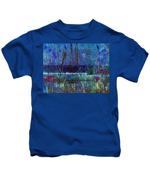 Ocean Blue Kids T-Shirt