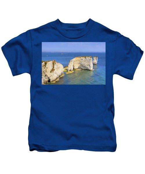 Old Harry Rocks - Purbeck Kids T-Shirt
