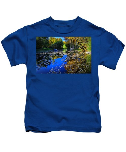 On Golden Pond  Kids T-Shirt