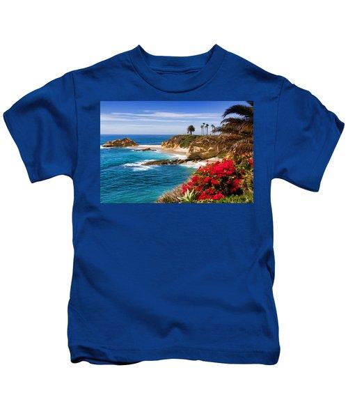 Orange County Coastline Kids T-Shirt