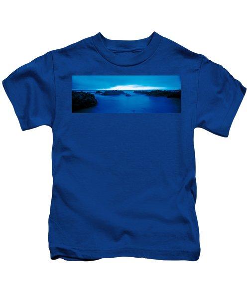 Pacific Coast Monterey Ca Usa Kids T-Shirt