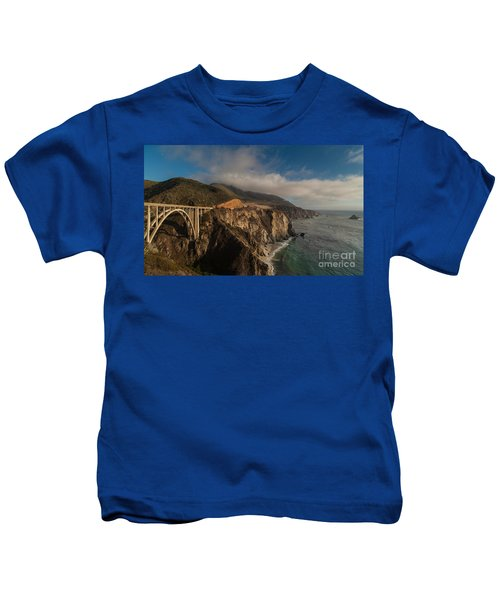 Pacific Coastal Highway Kids T-Shirt