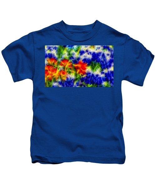 Painted Wildflowers Kids T-Shirt