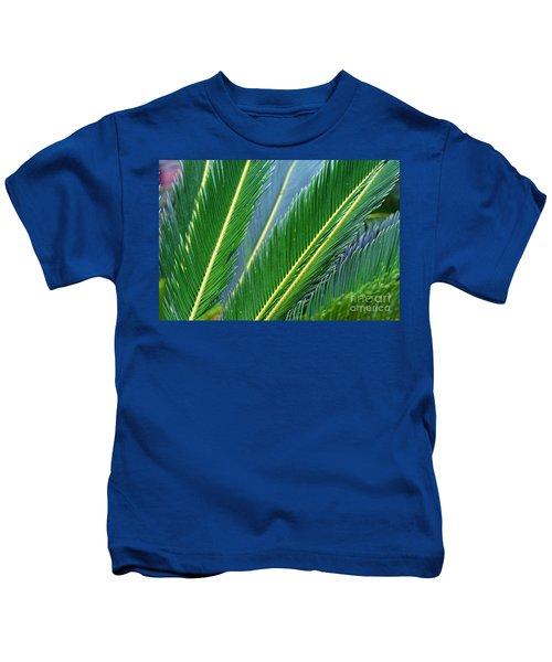 Palm Cycas Fronds Kids T-Shirt