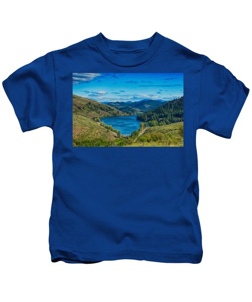 Patterson Lake In The Summer Kids T-Shirt