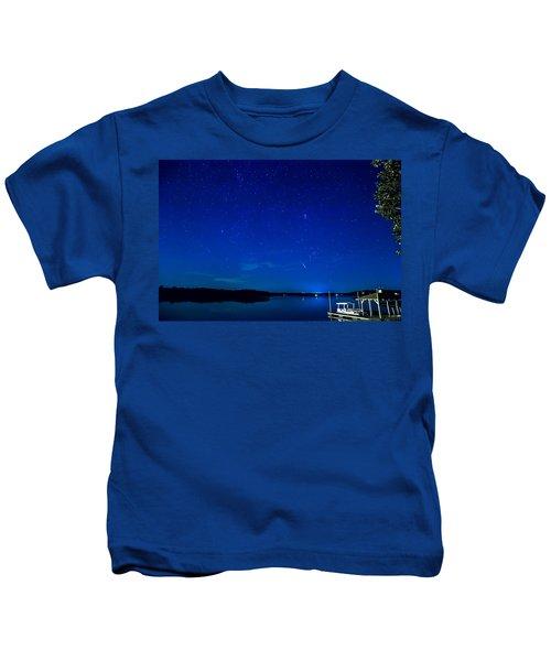 Perseid Meteor Kids T-Shirt