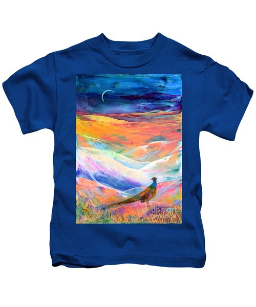 Pheasant Moon Kids T-Shirt