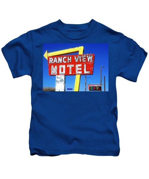 Ranch View Motel Kids T-Shirt