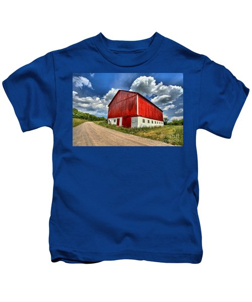 Red Country Barn Kids T-Shirt