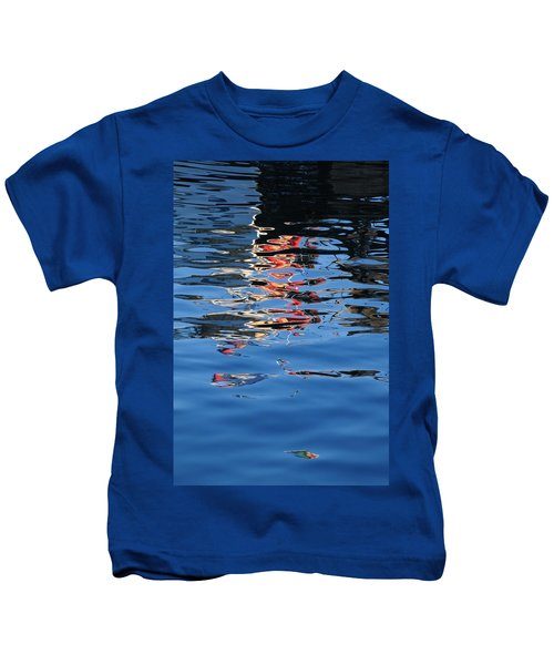 Reflections In Red Kids T-Shirt
